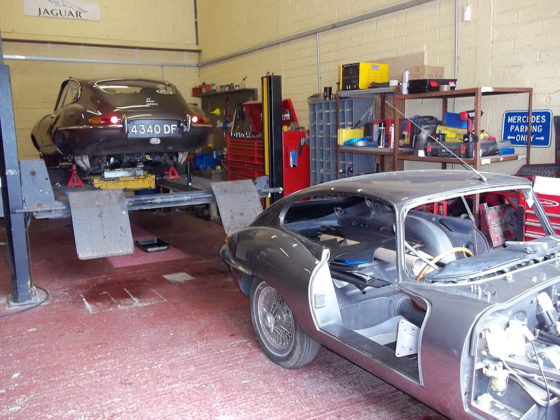 Classic Jaguars are a speciality at Wight Classics