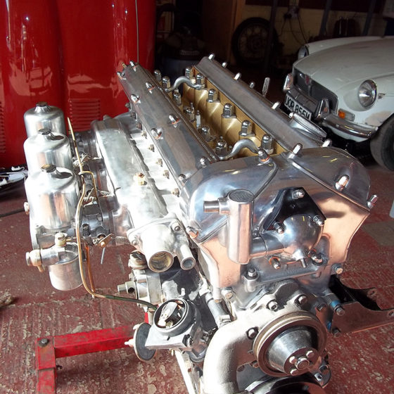 Full classic car engine rebuilds on the Isle of Wight