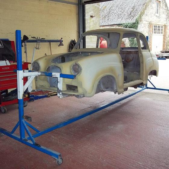 Classic car restoration at Wight Classics