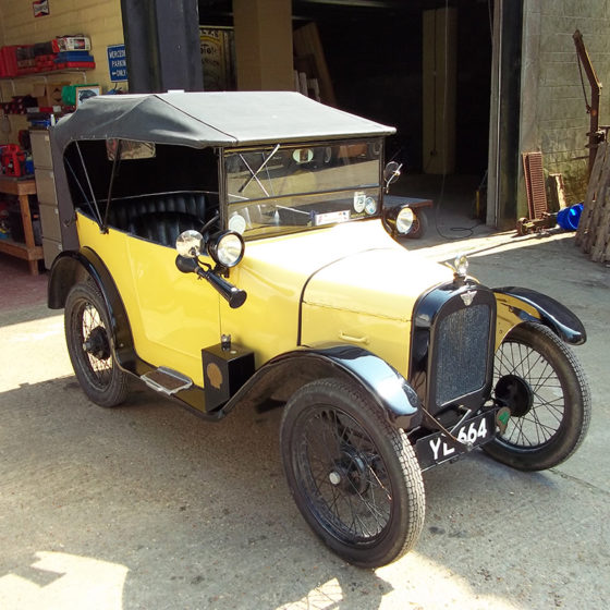 Austin 7 Wight Classics car safety inspection