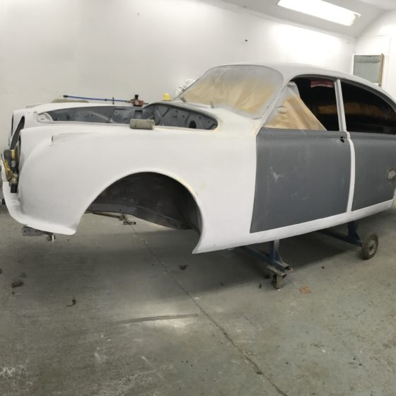 Jaguar Mk 2 full restoration at Wight Classics