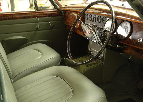 Jaguar Aldridge Trimming MK2 interior retrim in green