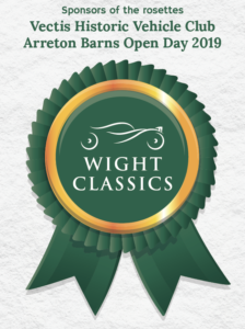 Sponsor of the rosettes for the VHVC Open Day 2019