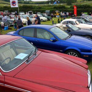 Jaguar Enthusiasts at the VHVC car show 2019