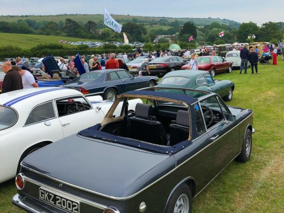 More than 300 classic cars at the VHVC car show 2019