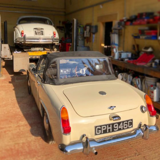 MG Midget and Jaguar Mk2 Wight Classics