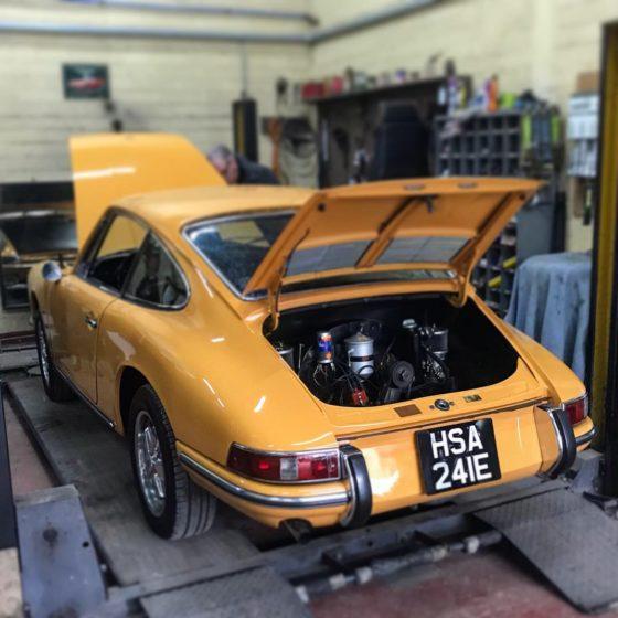 Porsche 912 Wight Classics
