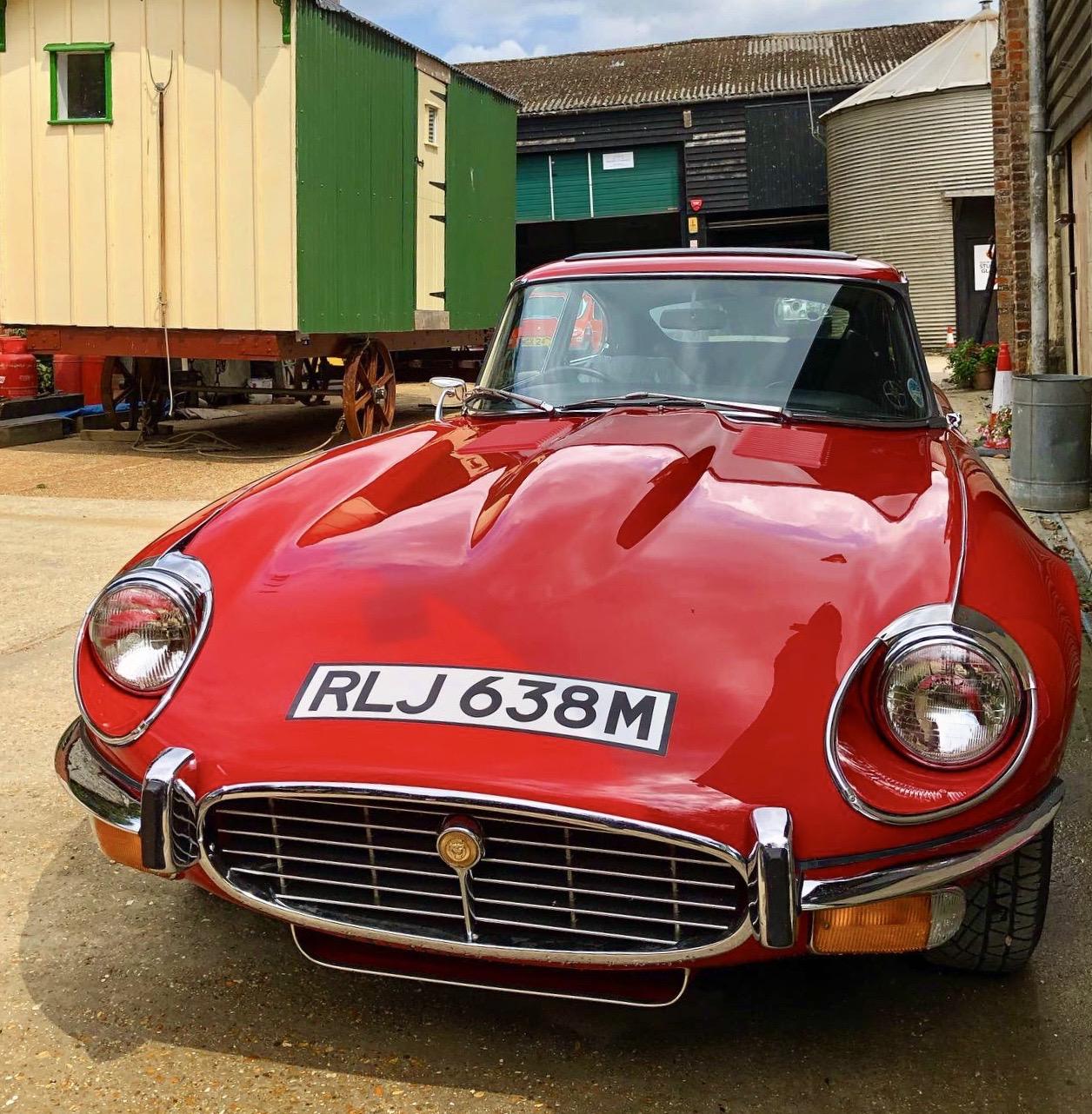 Jaguar E Type at Wight Classics