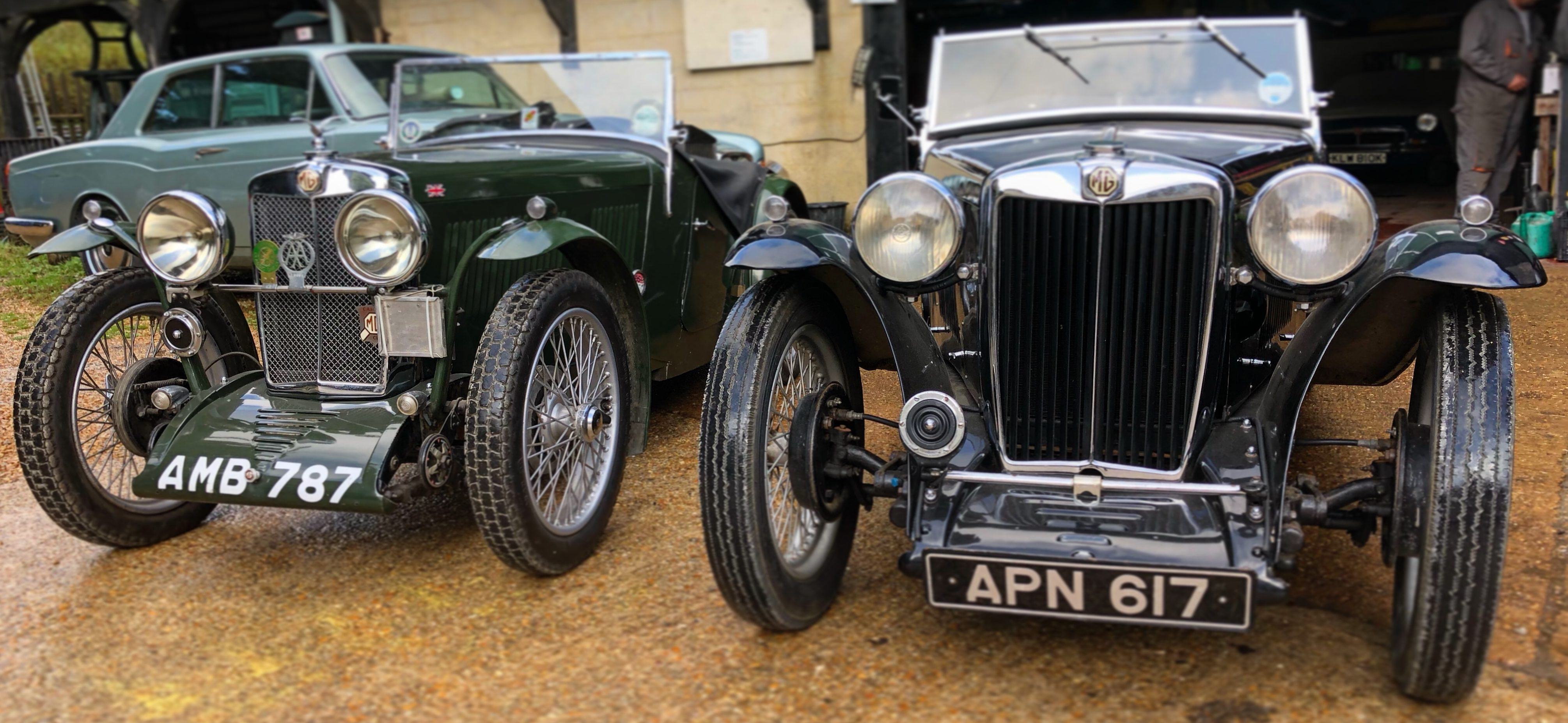 Pre War MG J2 and TA Midget Wight Classics