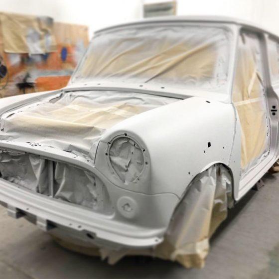 Classic Mini full restoration Wight Classics
