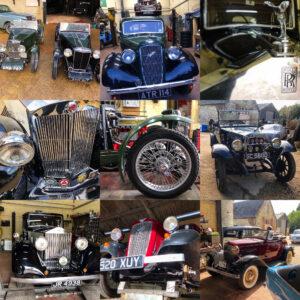 Pre War classic cars at Wight Classics